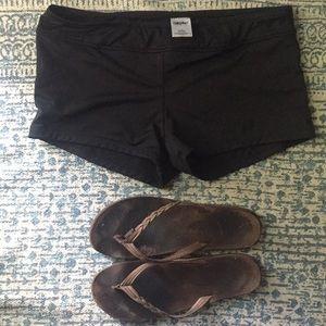 Black Swim Shorts